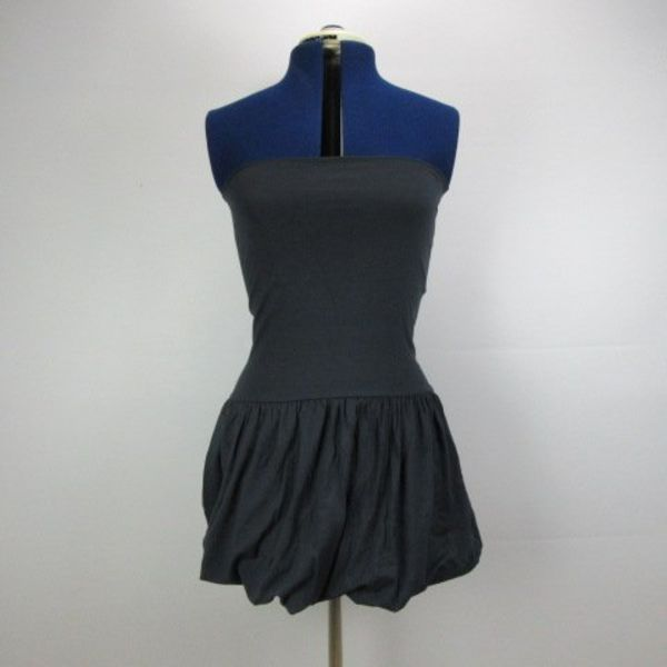 Strapless jurk (S)