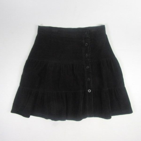 Zwarte rok (XL)