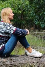 Original South Norwegian Sweater 'Noruega' Blue