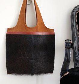 Original South Leather bag 'Preto'