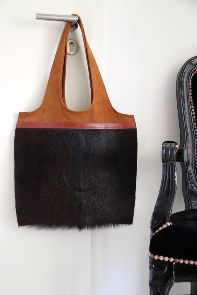 Original South Leather bag 'Preto' - Original South