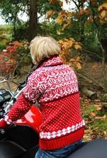 Original South Norweger Pullover 'Noruega' Rot