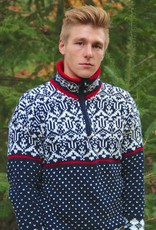 Original South Norweger Pullover 'Noruega' Blau