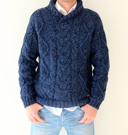 Original South Strickpullover 'Robusto' Blau