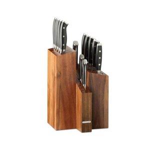 Wartmann Messenblok + 12 messen + aanzetstaal