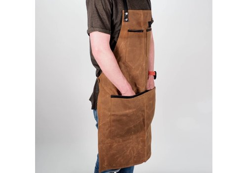 The Bastard BBQ Waxed Apron Bruin
