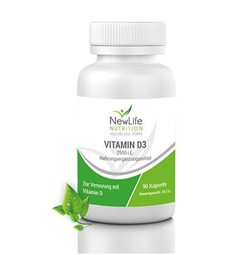 NewLife VITAMIN D3 - 34,2g (90 Kapseln)