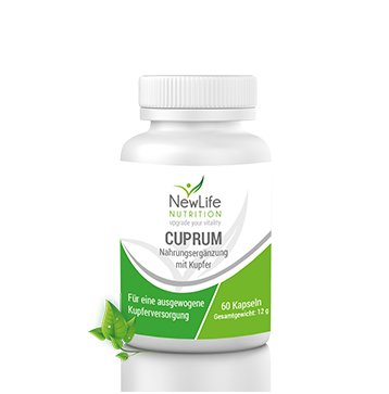 CUPRUM - 12g (60 Kapseln)