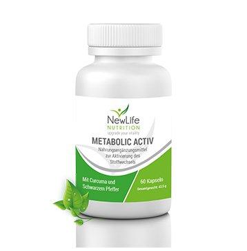 NewLife METABOLIC ACTIV - 43,5g (60 Kapseln)