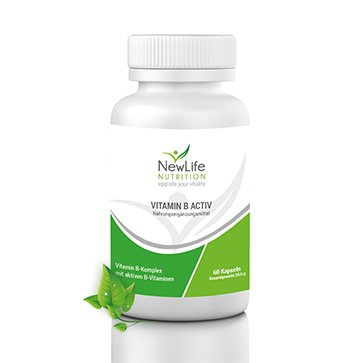 NewLife VITAMIN B ACTIV - 29,6 g (60 Kapseln)