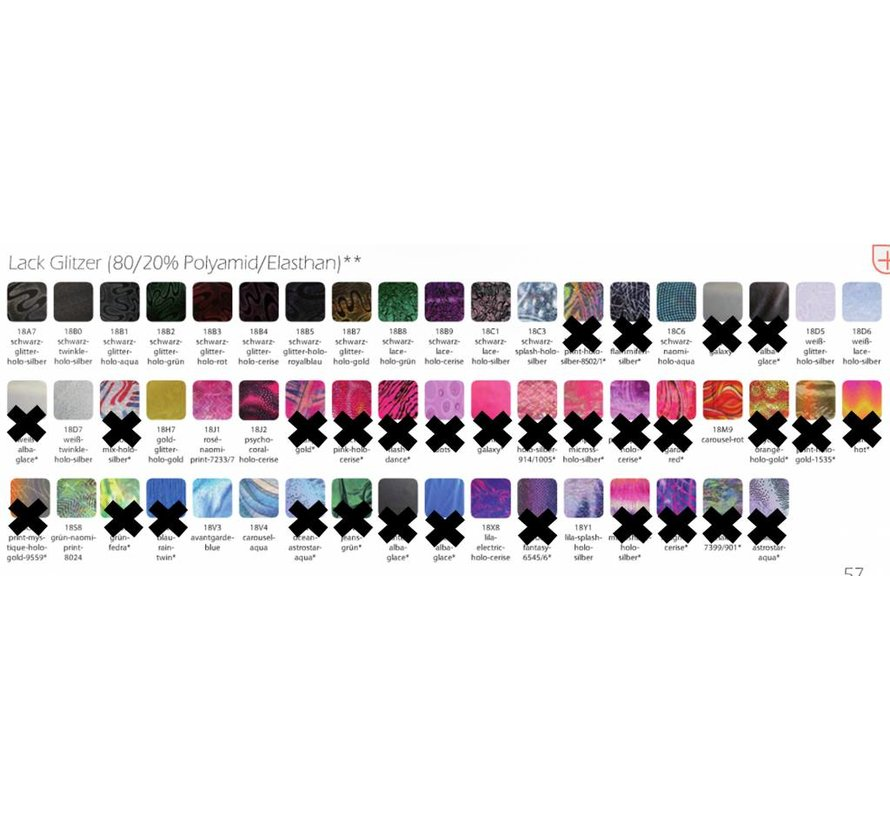 Scrunchie in more than 20 colors