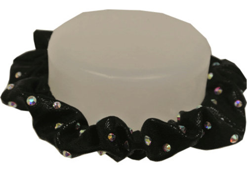 Gimar Hair Scrunchie with rhinestone