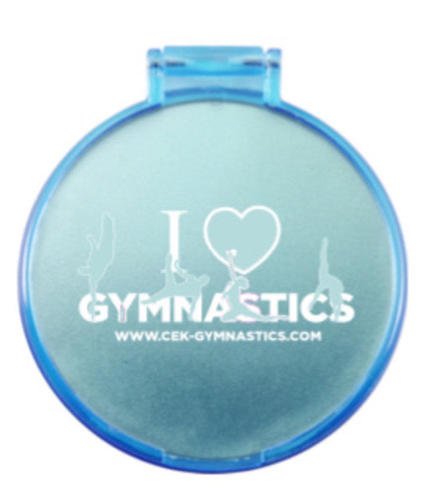 Cek cek gymnastics for Miroir 2 metres