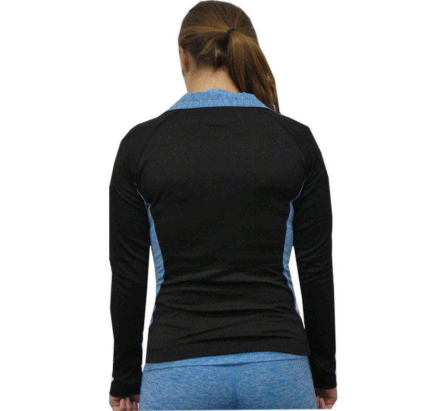 Sporty jacket Turquoise