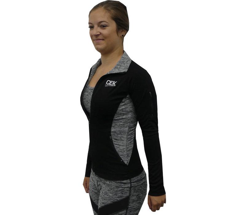 Sporty jacket Gray