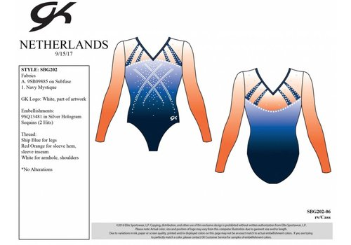 GK Leotard Turnz