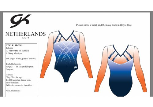 GK Leotard Turnz A