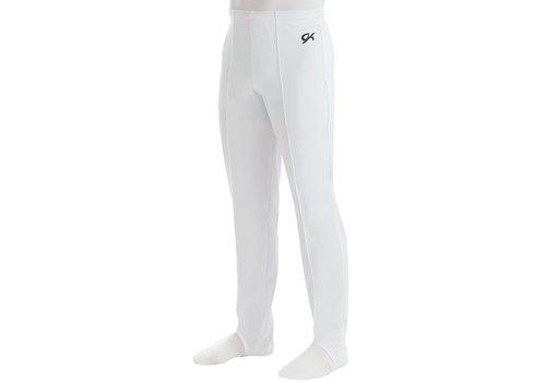 GK Men's Pant 1813M White Campus StretchTek