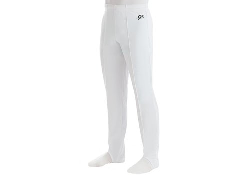 GK Turnhose 1813M White Campus StretchTek