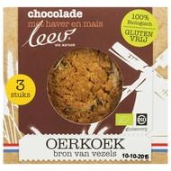 Leev Oerkoek met chocolade biologisch