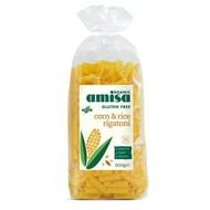Amisa Rijst & maïs rigatoni biologisch