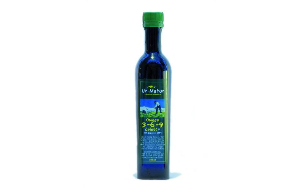Leinöl Omega 3-6-9 250ml