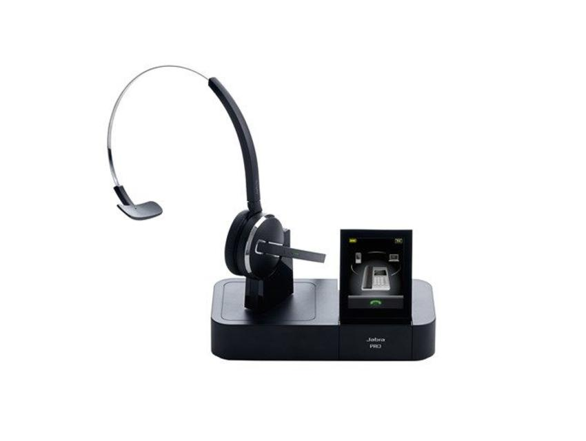 Jabra Pro 9470 Monauraal Hoofdband Zwart hoofdtelefoon
