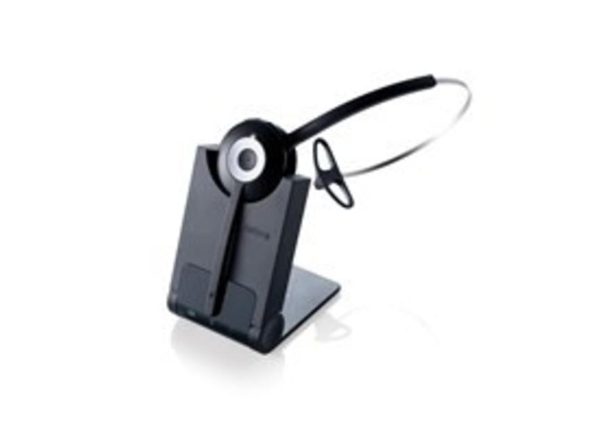 Jabra PRO 920 Monauraal Hoofdband Zwart hoofdtelefoon