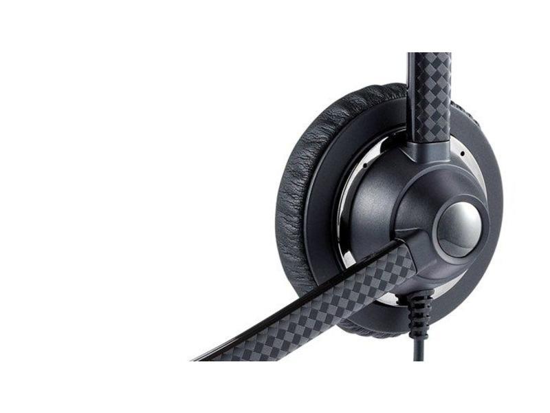 Jabra Jabra UC Voice 750 MS mono Monauraal Hoofdband Zwart hoofdtelefoon