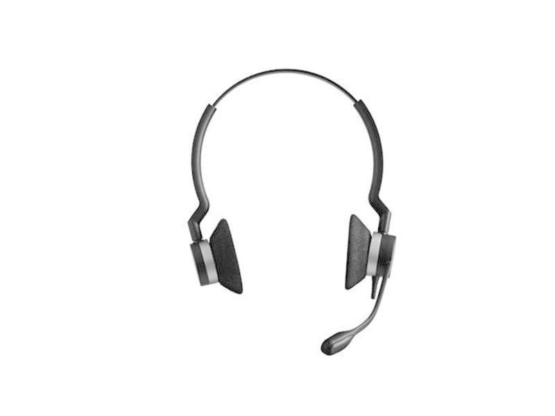 Jabra Jabra BIZ 2300 USB UC Duo Stereofonisch Hoofdband Zwart hoofdtelefoon