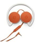 HP HP H2800 Stereofonisch Hoofdband Oranje, Wit hoofdtelefoon