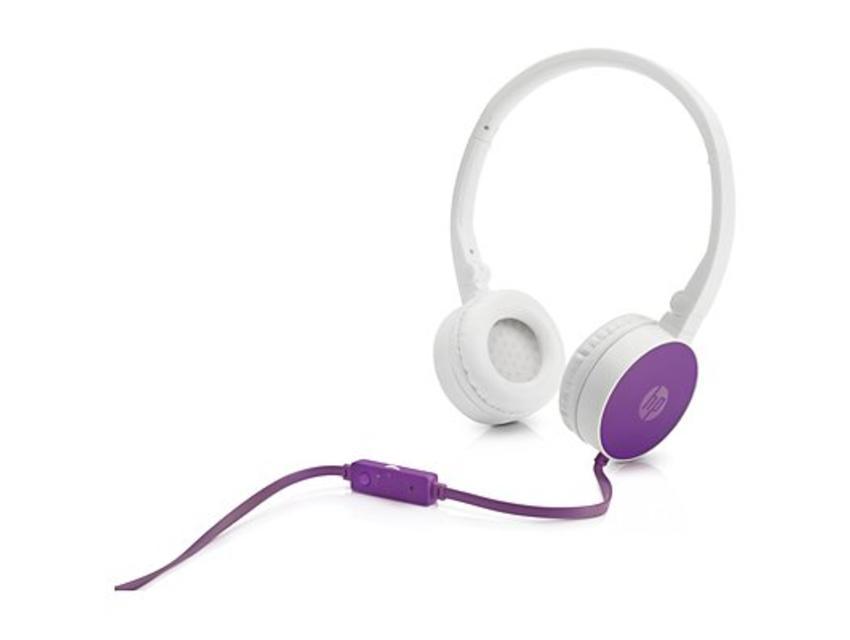 HP H2800 Purple Headset Stereofonisch Hoofdband Paars hoofdtelefoon