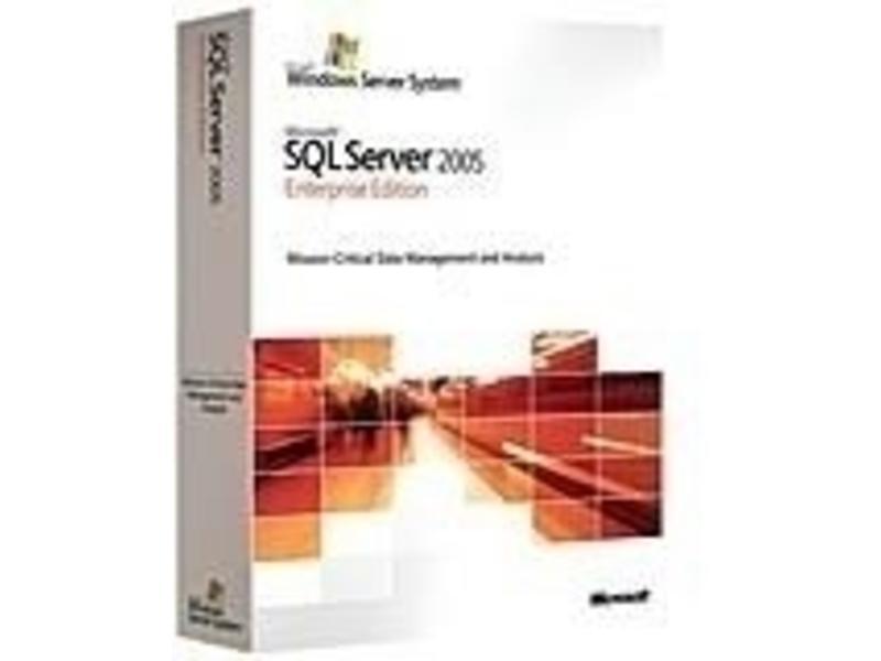 Microsoft Microsoft SQL Server 2005 Enterprise Edition, x64 EN OLP NL AE