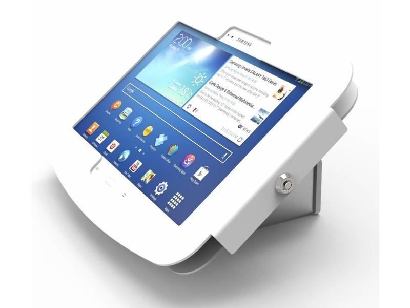 Compulocks Compulocks Galaxy Flip Kiosk Fits Galaxy 10.1 Wit houder