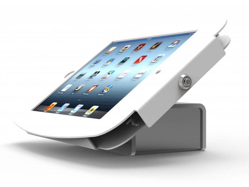 Compulocks iPad 2/3/4 Flip Kiosk Wit houder