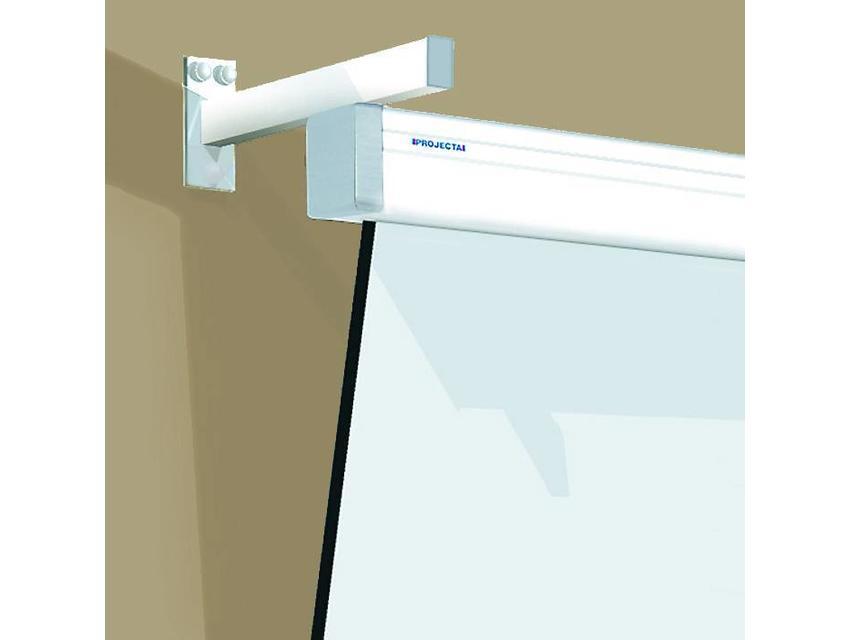 Projecta Wandbeugel SlimScreen RAL 9016