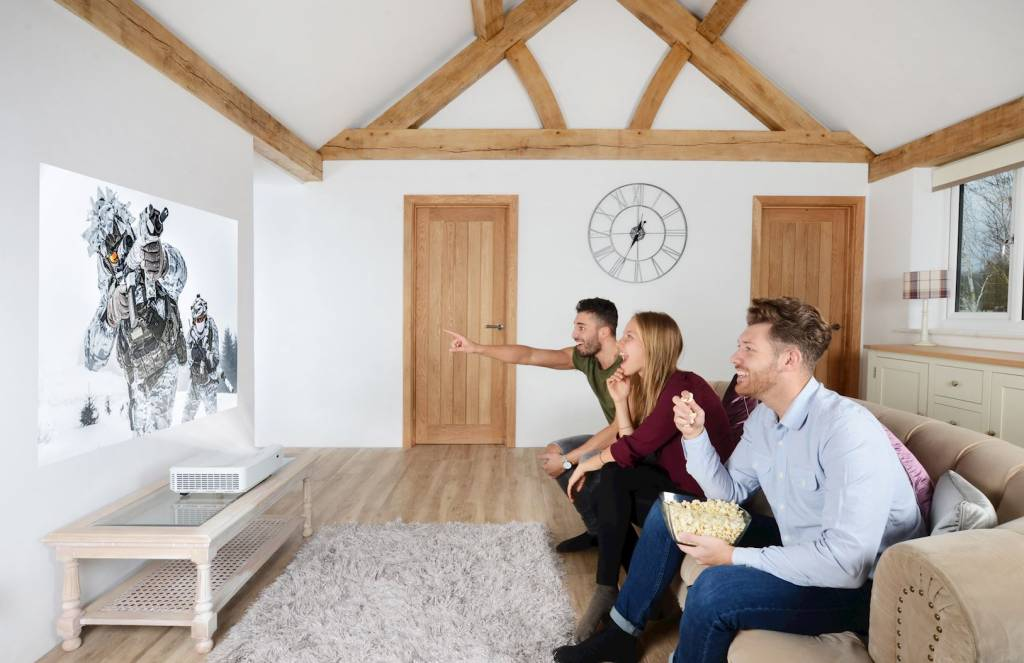Beamer In Huis : Optoma gt beamer kopen beamerexpert