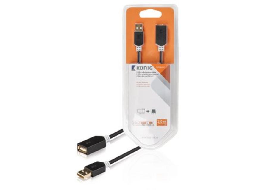 König USB verlengkabel 2 meter
