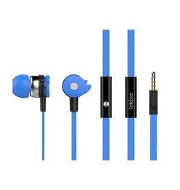 Magic Wheel Stereo Headset Oordopjes met microfoon - Blauw