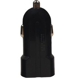 USAMS2 USB mini Autolader 2port 2.1 A Zwart