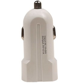USAMS2 USB mini Autolader 2port 2.1 A Wit