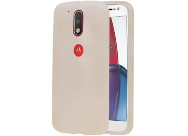 Motorola Moto E4 Plus TPU & Siliconen & Glas