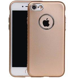 Design TPU Hoesje voor iPhone 7 / 8 Goud