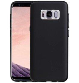 Design TPU Hoesje voor Galaxy S8 Zwart
