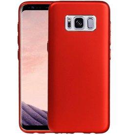 Design TPU Hoesje voor Galaxy S8 Rood