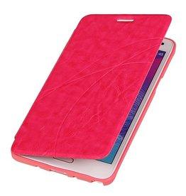 Easy Booktype hoesje voor Galaxy Note 4 N910F Roze