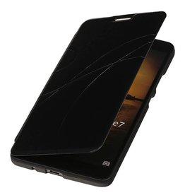 Easy Booktype hoesje voor Huawei Ascend Mate 7 Zwart