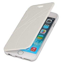 Easy Booktype hoesje voor iPhone 6 Wit