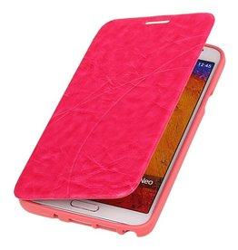 Easy Booktype hoesje voor Galaxy Grand 2 SM-G7106 Roze