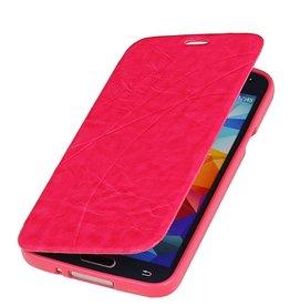 Easy Booktype hoesje voor Galaxy A5 Roze